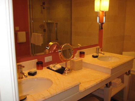 Praktikus fürdőszoba lámpa